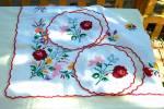 Cloth Doilies and Coasters