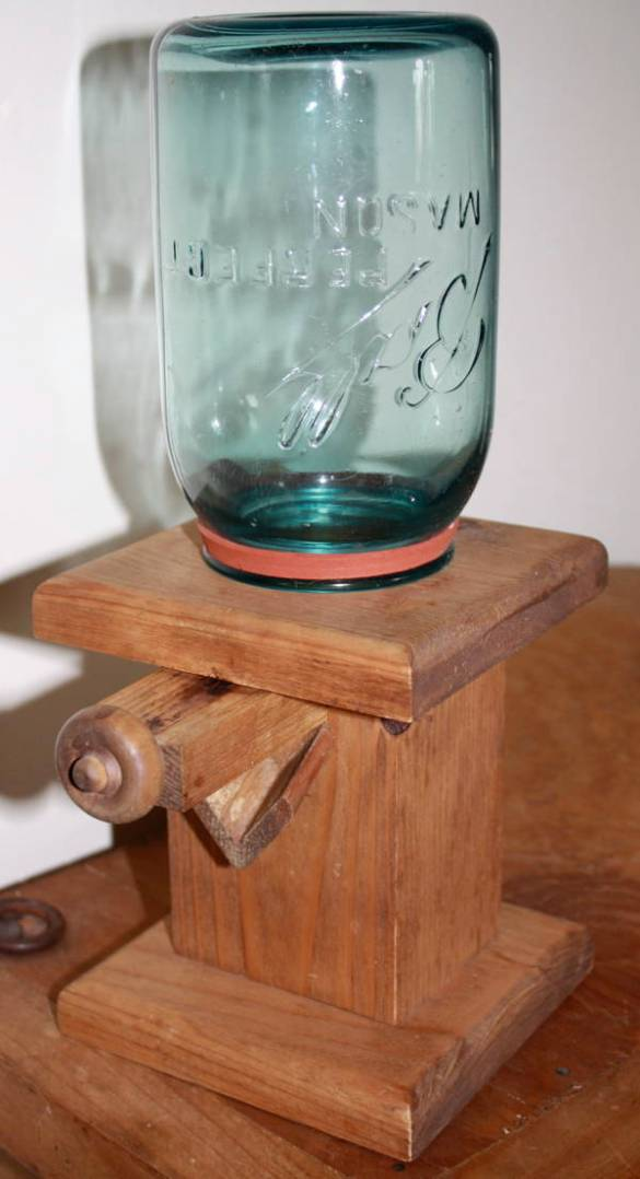 Candy Dispenser Woodworking Plans