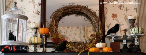 Autumn Mantel