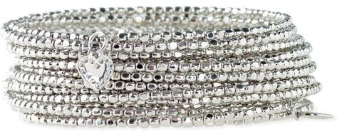 Bardo Spiral Bangle - Silver